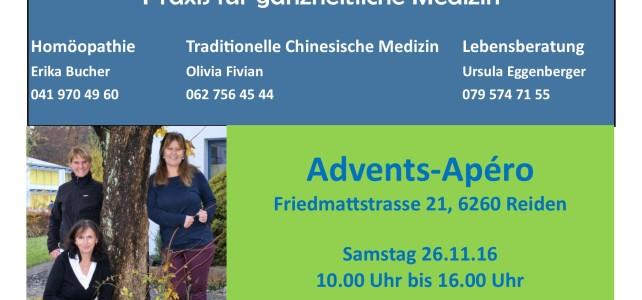 Einladung zum Adventsapèro